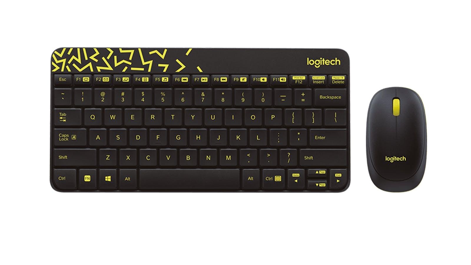959ab362a2d Logitech MK240 Nano Wireless Keyboard & Mouse Combo - Black   Harvey Norman  Malaysia