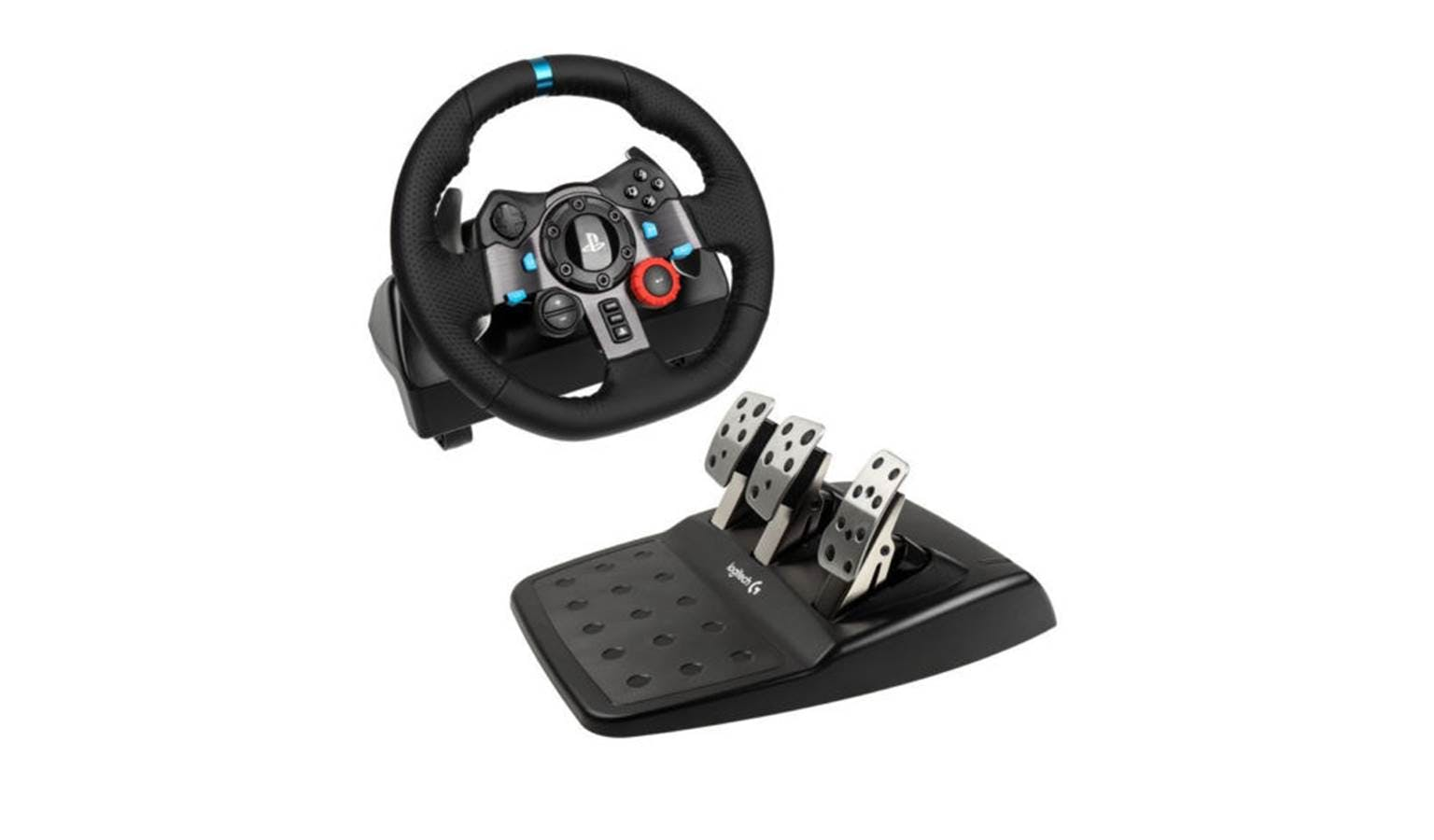 7765be5cf76 Logitech G29 Dual-motor Feedback Driving Force Racing Wheel with Responsive  Pedals for PlayStation 4 and PlayStation 3 | Harvey Norman Malaysia