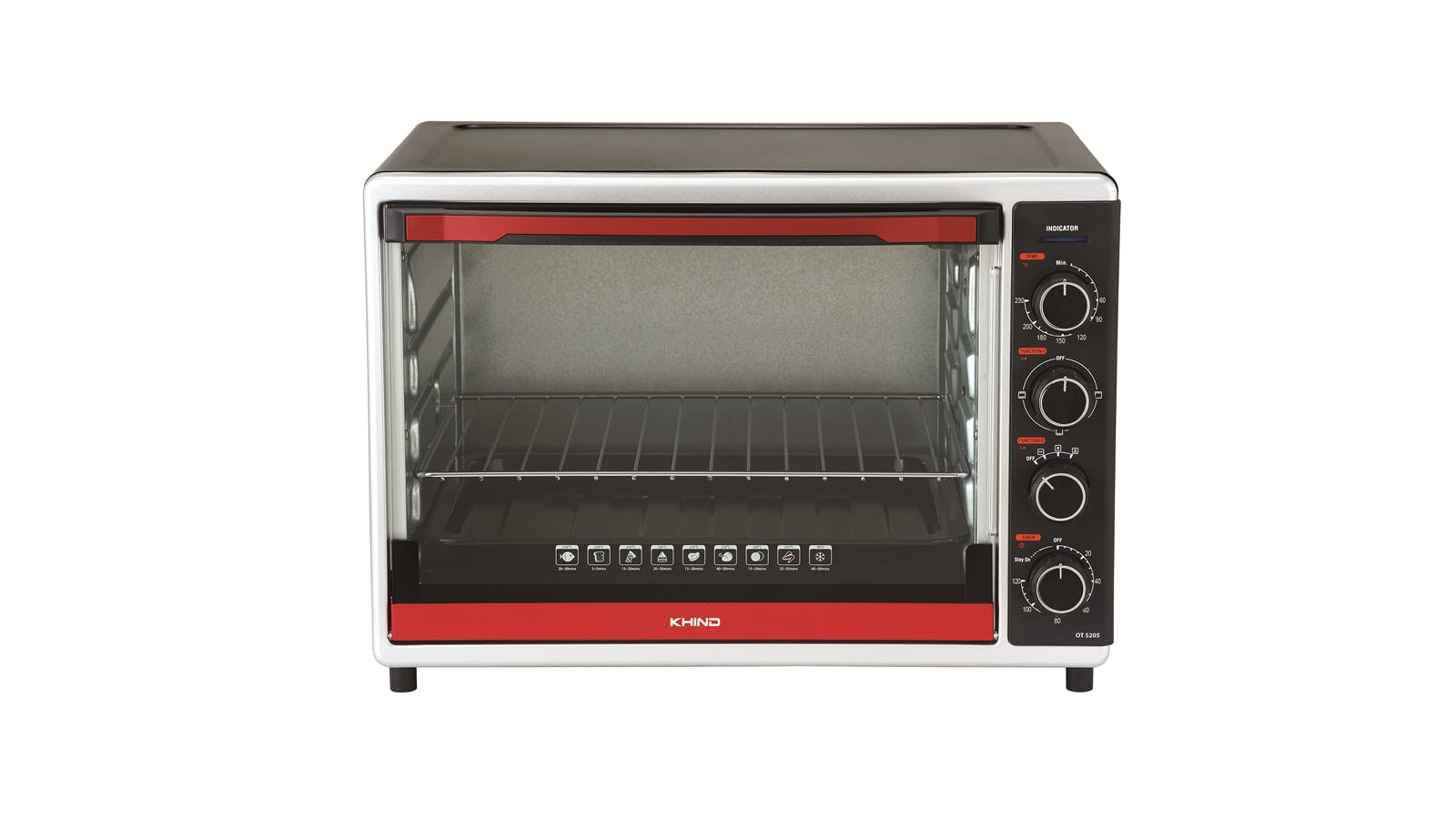 Khind Ot 5205 52l Electric Oven Harvey Norman Malaysia