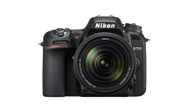 Nikon D7500 20.9MP  18-140mm  Digital SLR Camera - Black 01