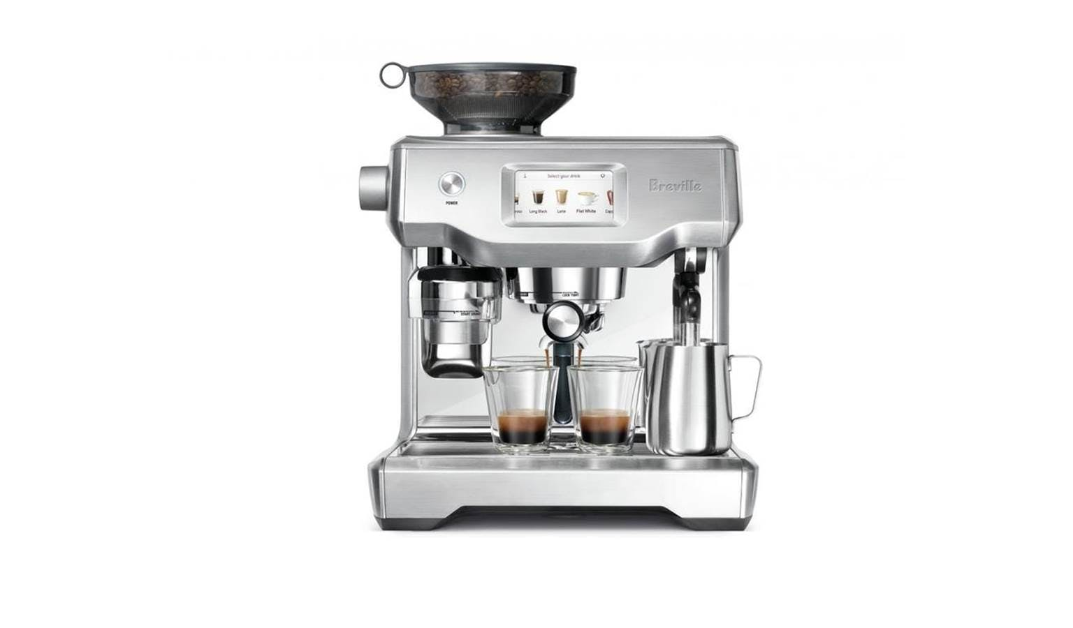 Breville Bes 990 The Oracle Touch Coffee Machine Harvey Norman