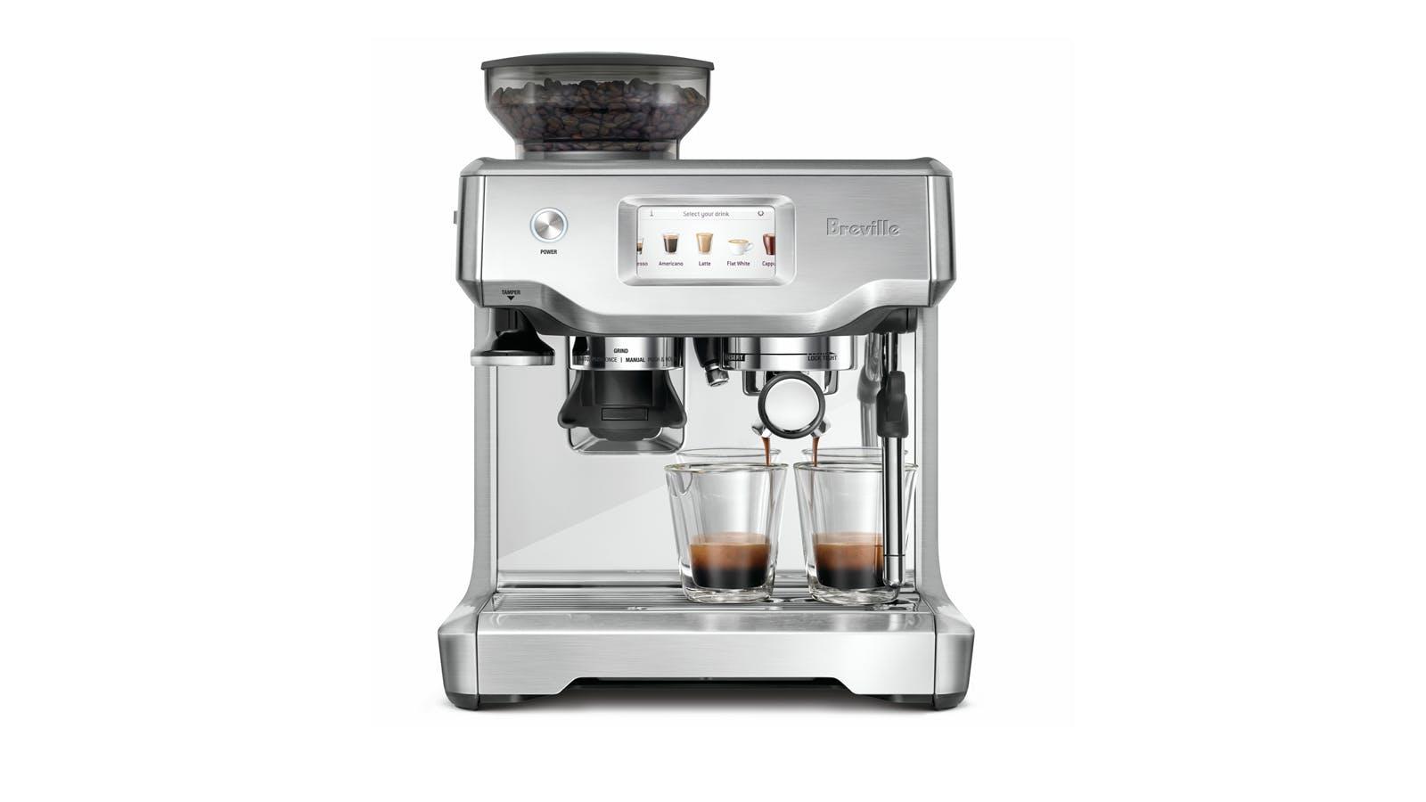 Breville Bes 880 The Barista Coffee Machine Harvey