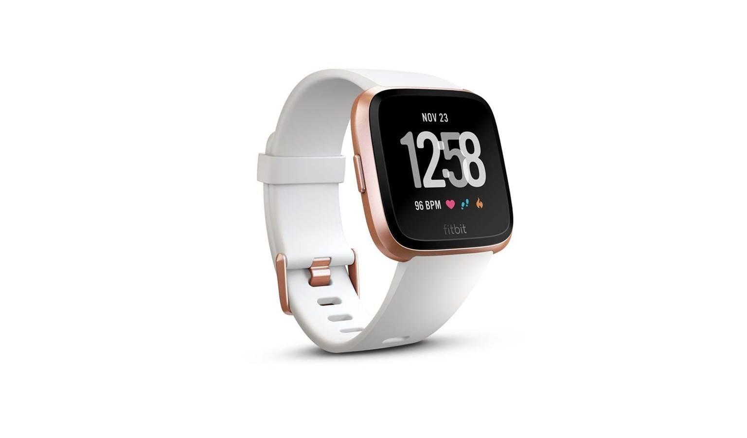Fitbit Versa White Rose Gold Harvey Norman Malaysia