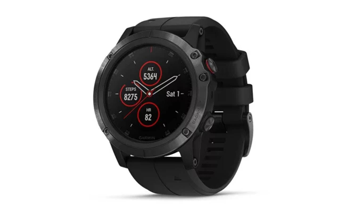 Garmin Fenix 5x Plus Black Harvey Norman Malaysia