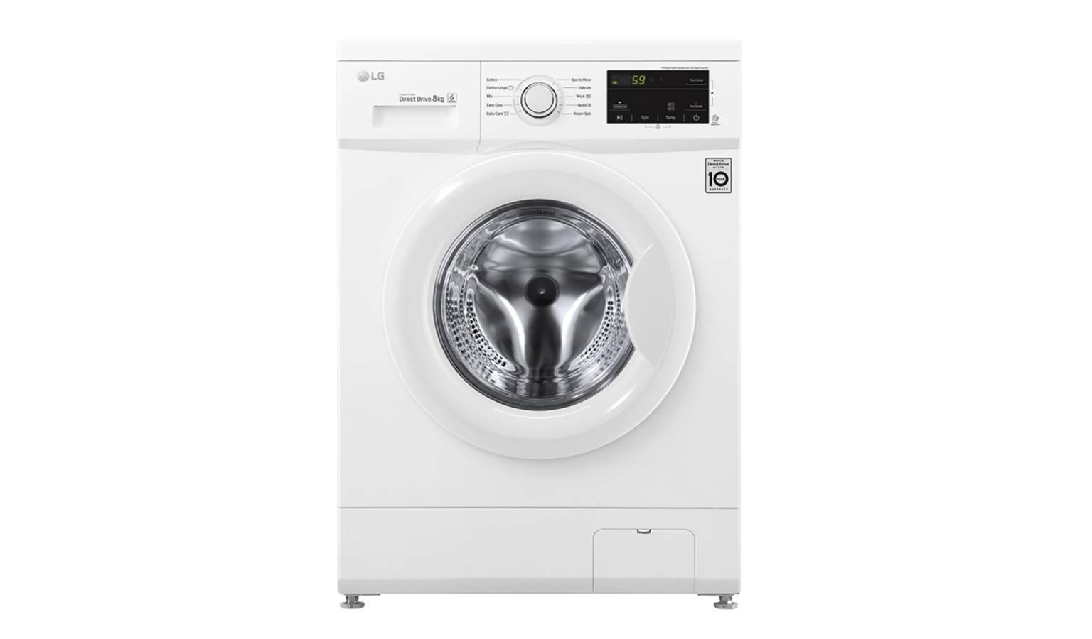 LG WD-MD8000WM 8KG 6 Motion Inverter Direct Drive Washing Machine