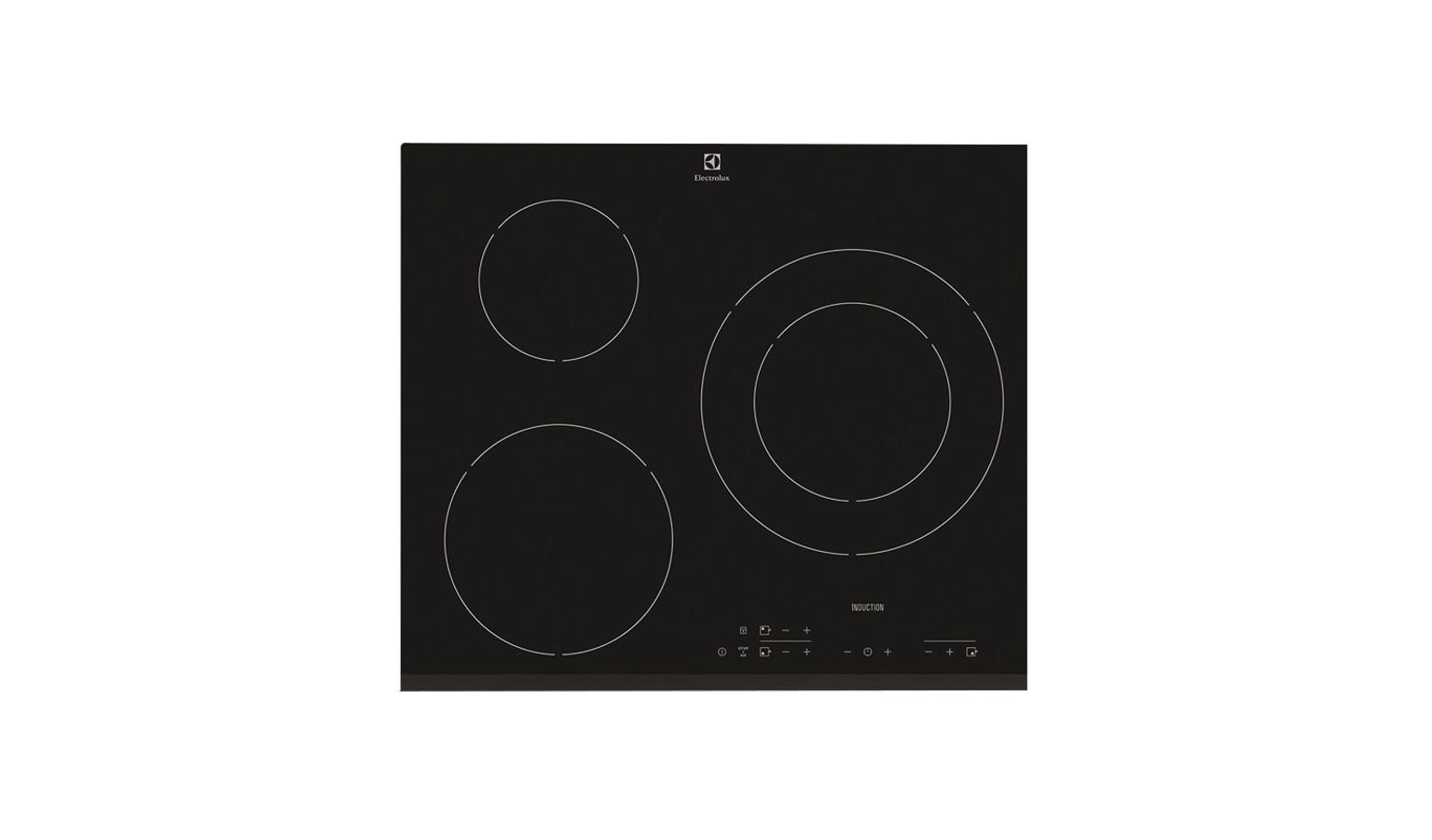 Electrolux EHH6332FOK 60cm Induction Hob - Black