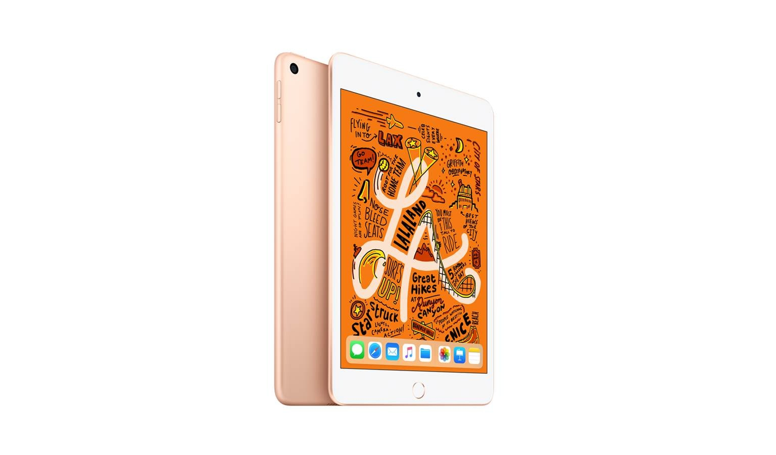 Apple iPad Mini (256GB) - Gold (Front)