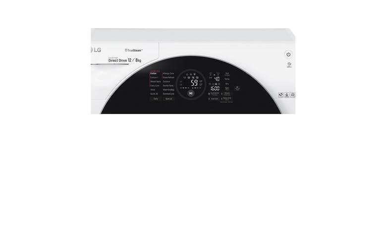 LG FG-1612H2W 12/8KG Washer and Dryer-001