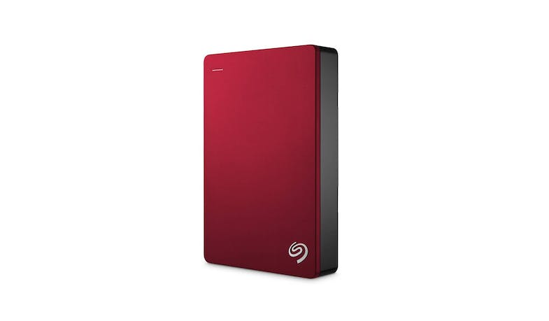 "Seagate 4TB 2.5"" Backup Plus Portable Drive - Red (Front)"