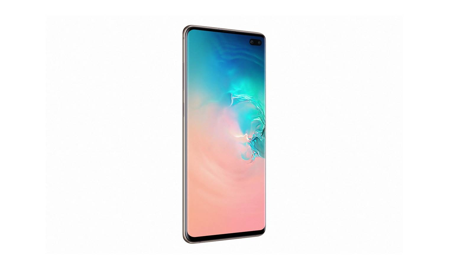 Samsung Galaxy S10+ Smartphone - Ceramic White (Right)