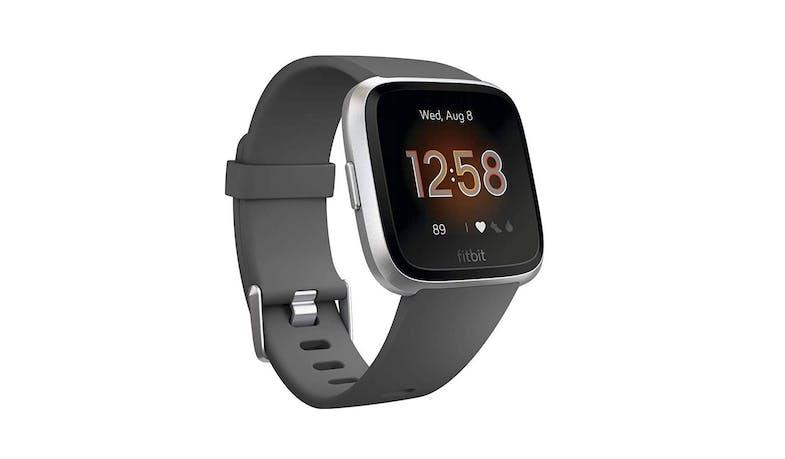 Fitbit Fb415srgy Versa Lite Edition Smartwatch Charcoal