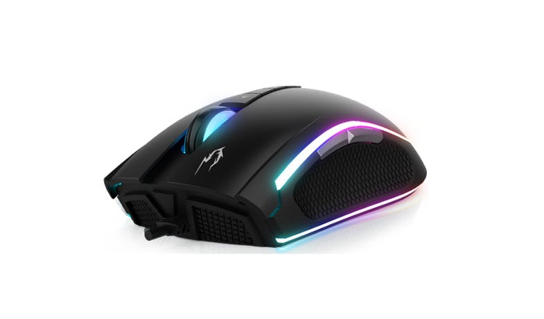 GAMDIAS ZEUS M1 RGB Optical Gaming Mouse - Black - 02