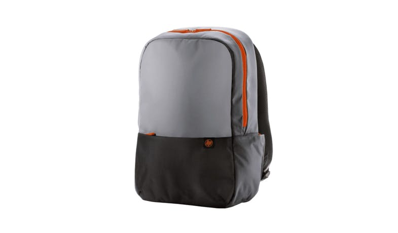 HP Duotone Laptop Backpack - Gray&Orange