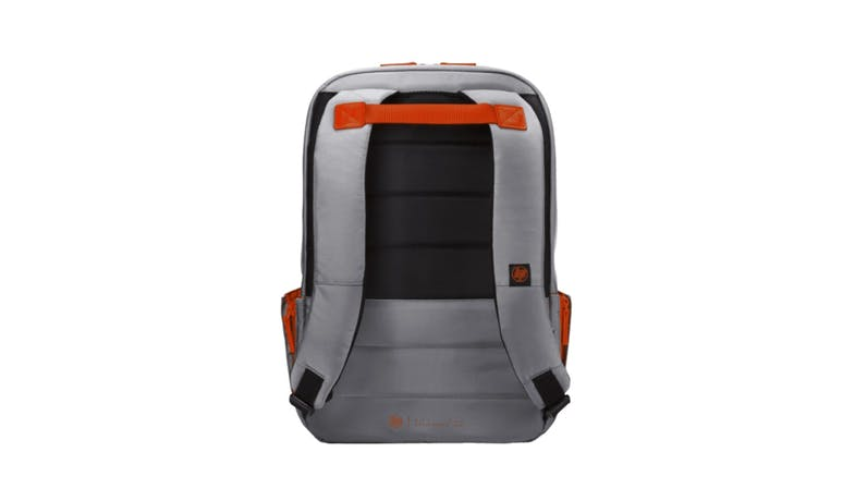 HP Duotone Laptop Backpack - Gray&Orange01