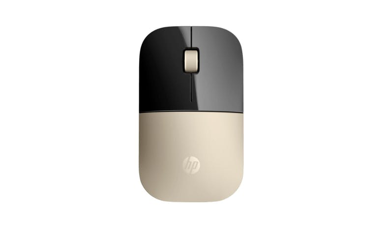 HP Wireless Mouse - Gold