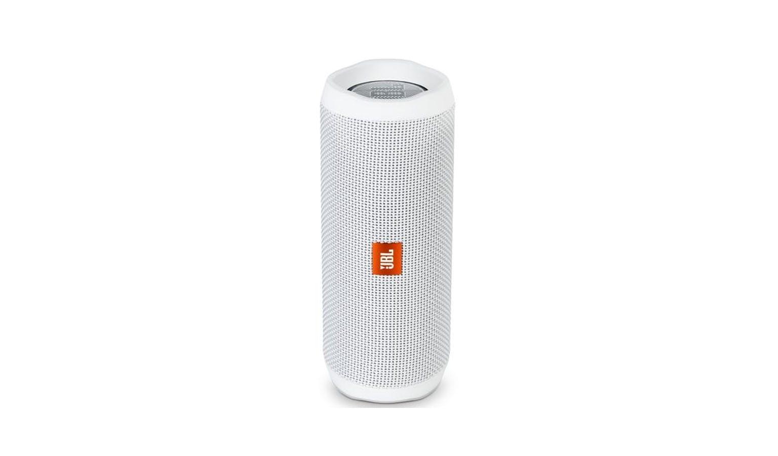 JBL Flip 4 Bluetooth Speaker - White