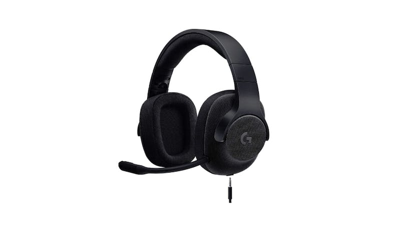 Logitech G433 7.1 Gaming Headset - Black_01