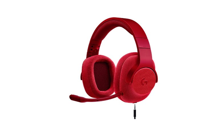 Logitech G433 7.1 Gaming Headset - Red_01