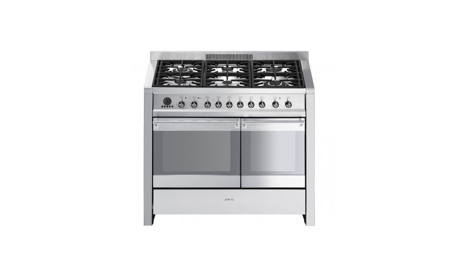 Smeg Freestanding A2-8 Gas Cooker - Stainless steel