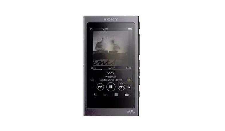 Sony NW-A45/B  High-Res Touchscreen 16GB MP3 Walkman Player - Black - 01