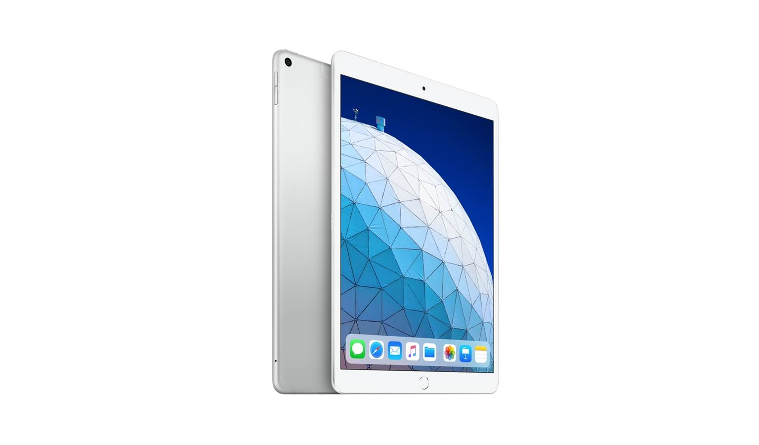 Apple iPad Air 4G (64GB) - Silver (Front)