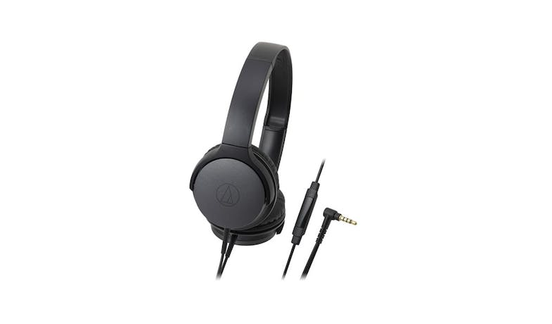Audio-Technica Portable On-Ear Headphones - Black