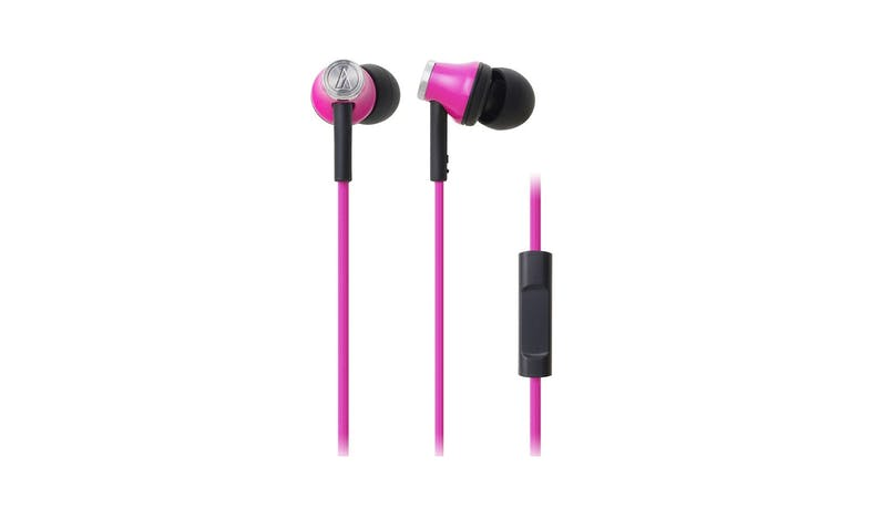 Audio-Technica ATH-CK330IS In-Ear Headphone - Pink