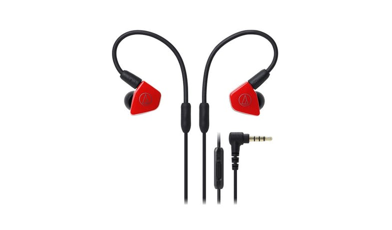 Audio-Technica Live-Sound In-Ear Headphones - Red_01