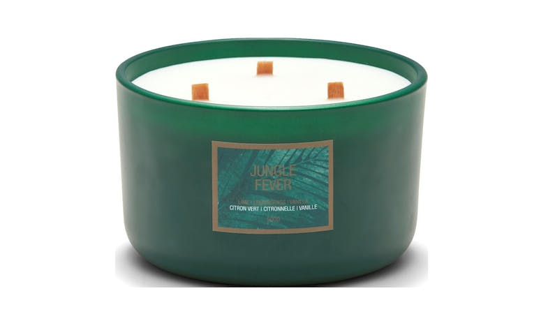 Bambis Lush 500G Candle Jungle Holder