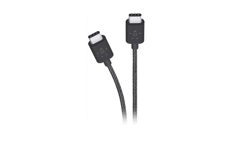 Belkin Metallic USB-C to USB-C Charge Cable-Black 01