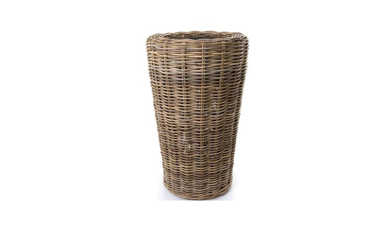 Florabelle Rattan Plant Stand - Brown