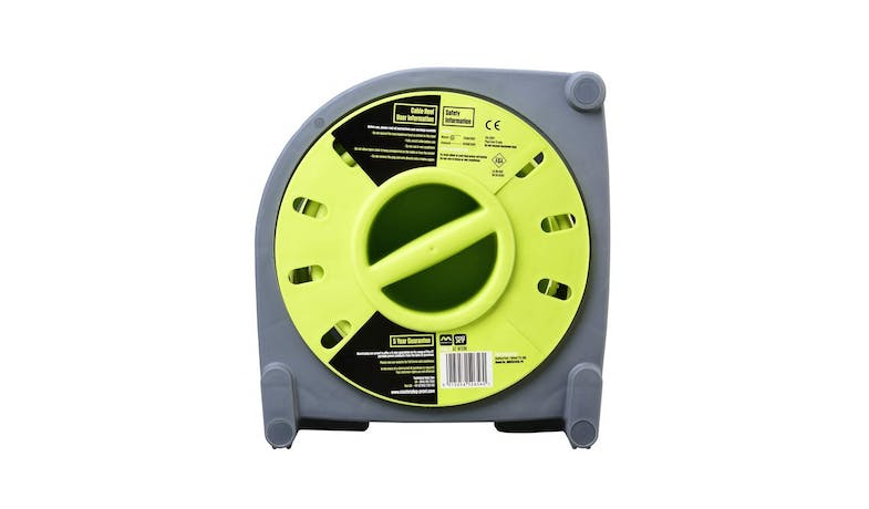 Masterplug 15M Cassette Cable Reel - Green - 02