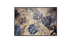 Nicholas Blue Jungle Paint Wall Art 01