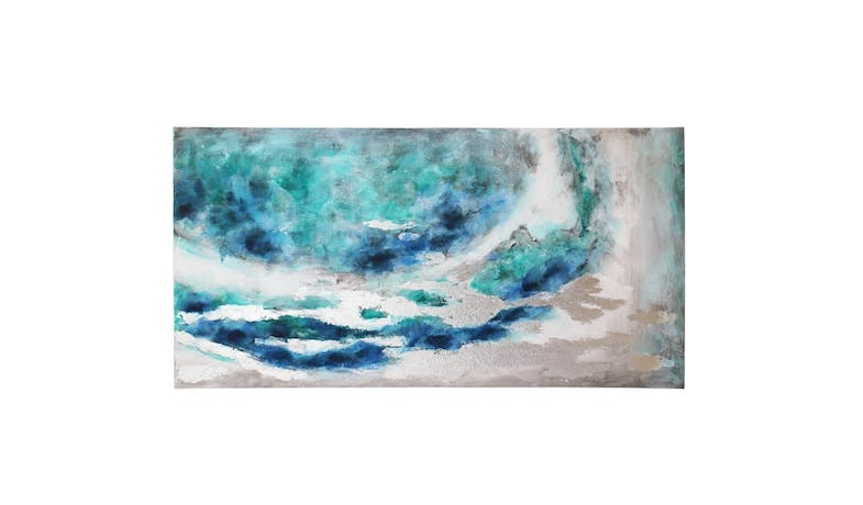 Nicholas PA343 Wall Art - Blue/Silver 01