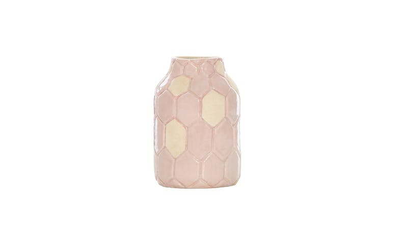 Swing Gift Lisborn Terra Hex Vase Small -Pink-01