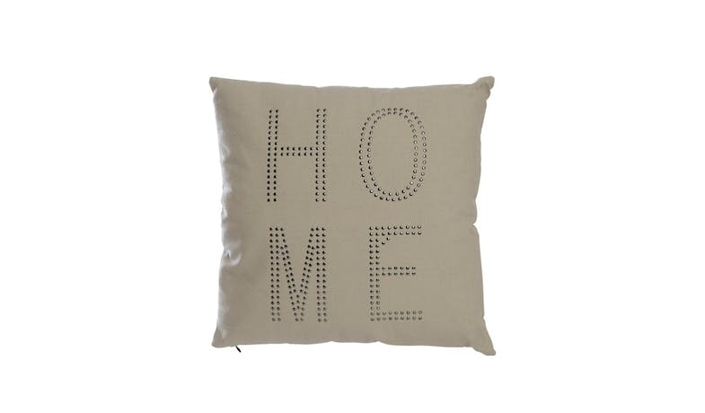 Swing Gift  Maisy Cotton Cushion - Grey - 01