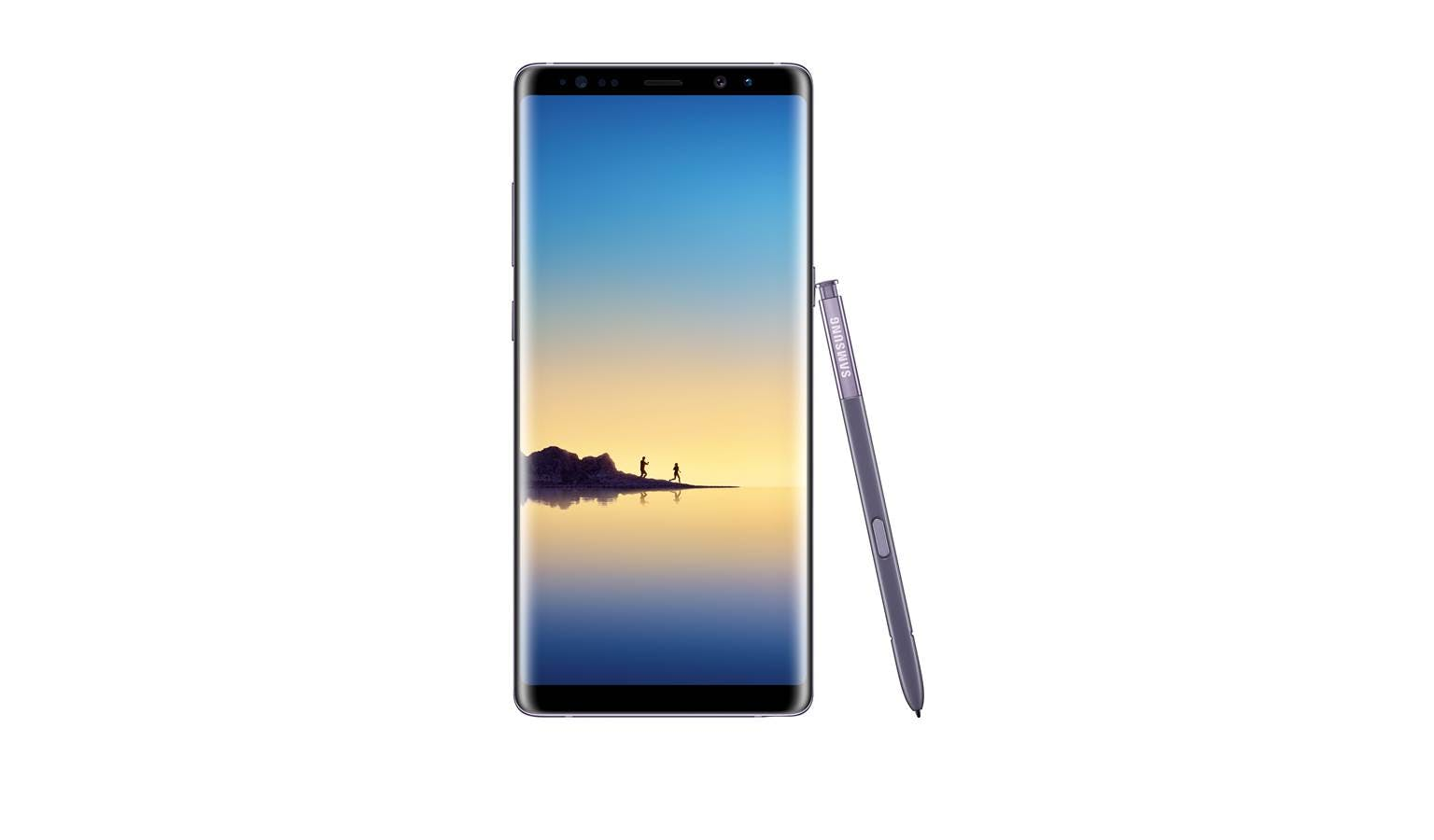 Samsung demo Grey Orchid Unit - Note8 Galaxy
