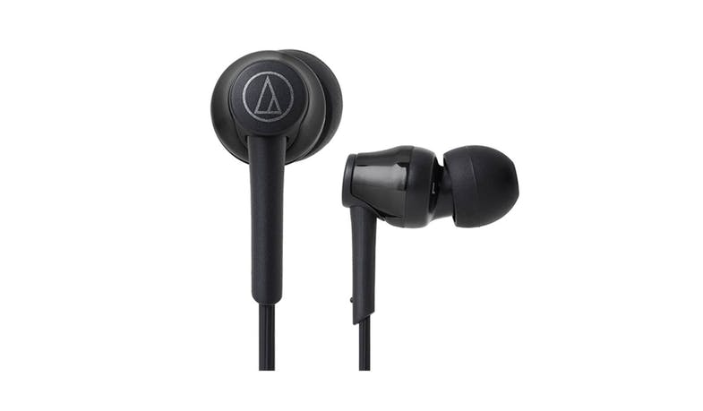 Audio-Technica Sound Reality Wireless In-Ear Headphones - Black (Close Up)