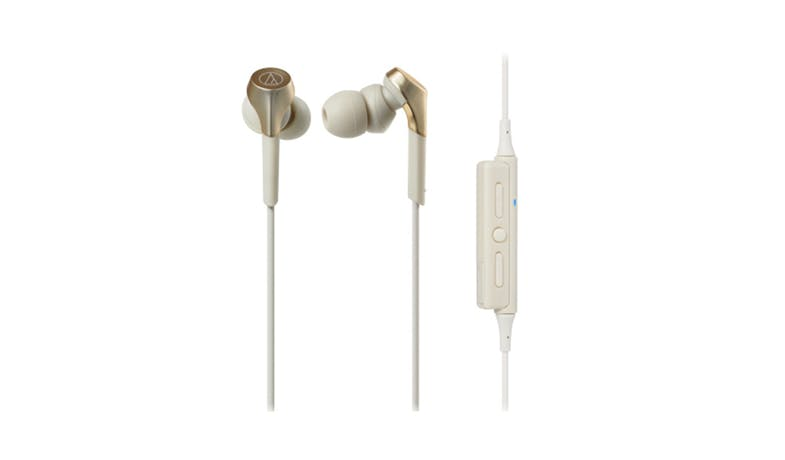 Audio-Technica Sound Wireless In-Ear Headphone  - Champagne Gold