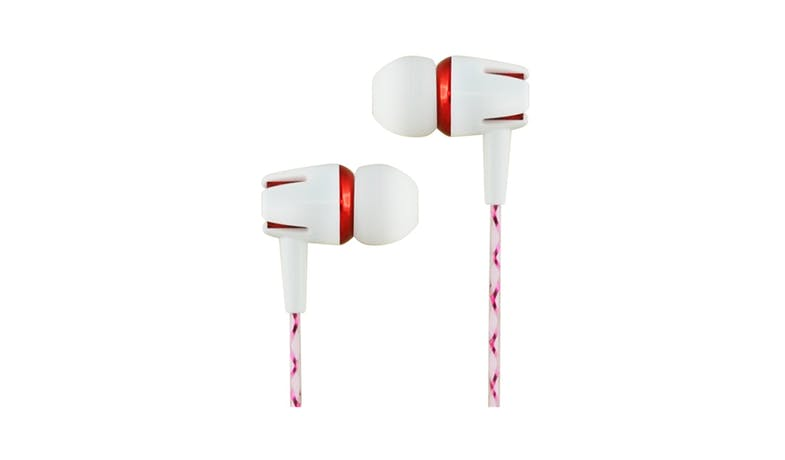 CLiPtec WHITE PARTY BME898 In-Ear Earphone - Red-01