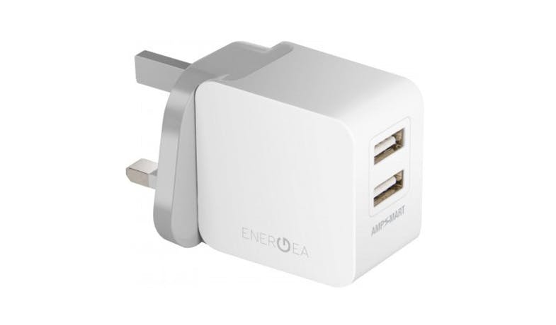 Energea Travelworld 3.4 Charger Adapter - White01