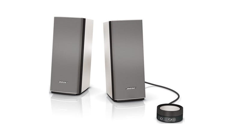 Bose Companion 20 Multimedia Speakers - Silver