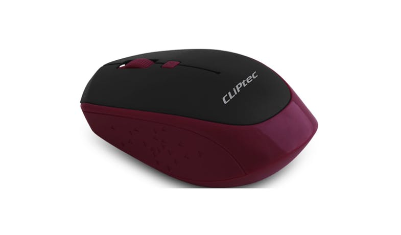 CLiPtec INNOVIF 1600dpi Wireless Optical Mouse - Magenta-01