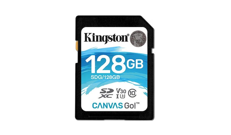 Kingston Canvas Go 128GB SDXC C10 Memory Card