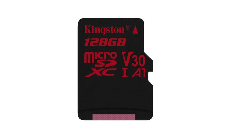 Kingston Canvas React 128GB UHS-I microSDHC Memory Card