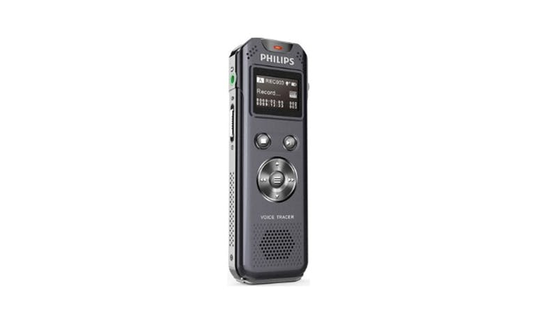 Philips VTR5800 8GB Dual Mic Digital Voice Recorder - Grey-01