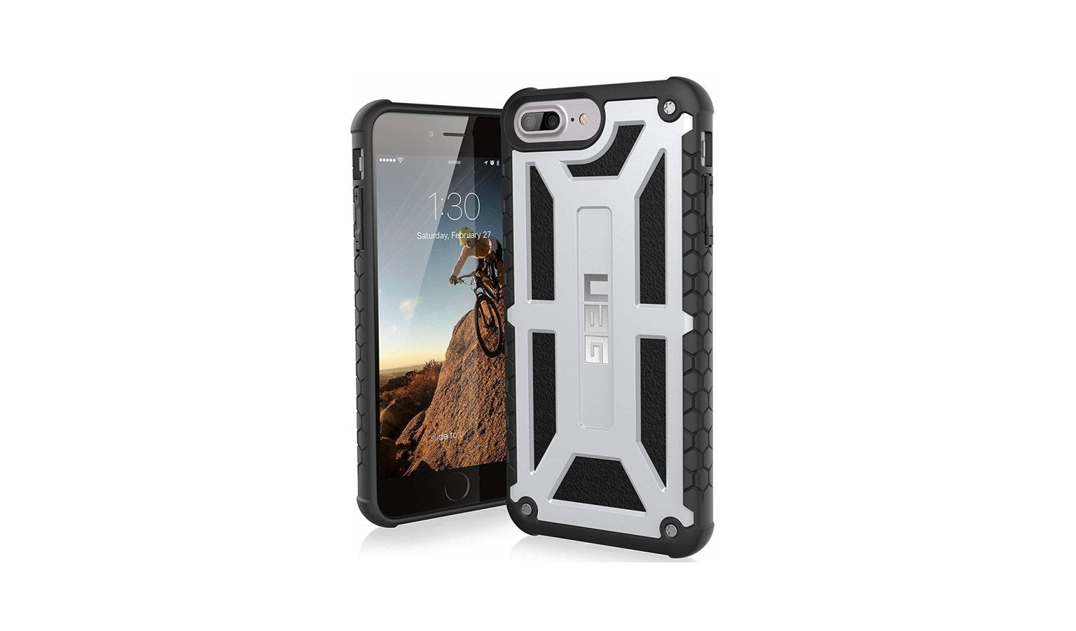 UAG Monarch Case for IPhone 8 - Platinum_01