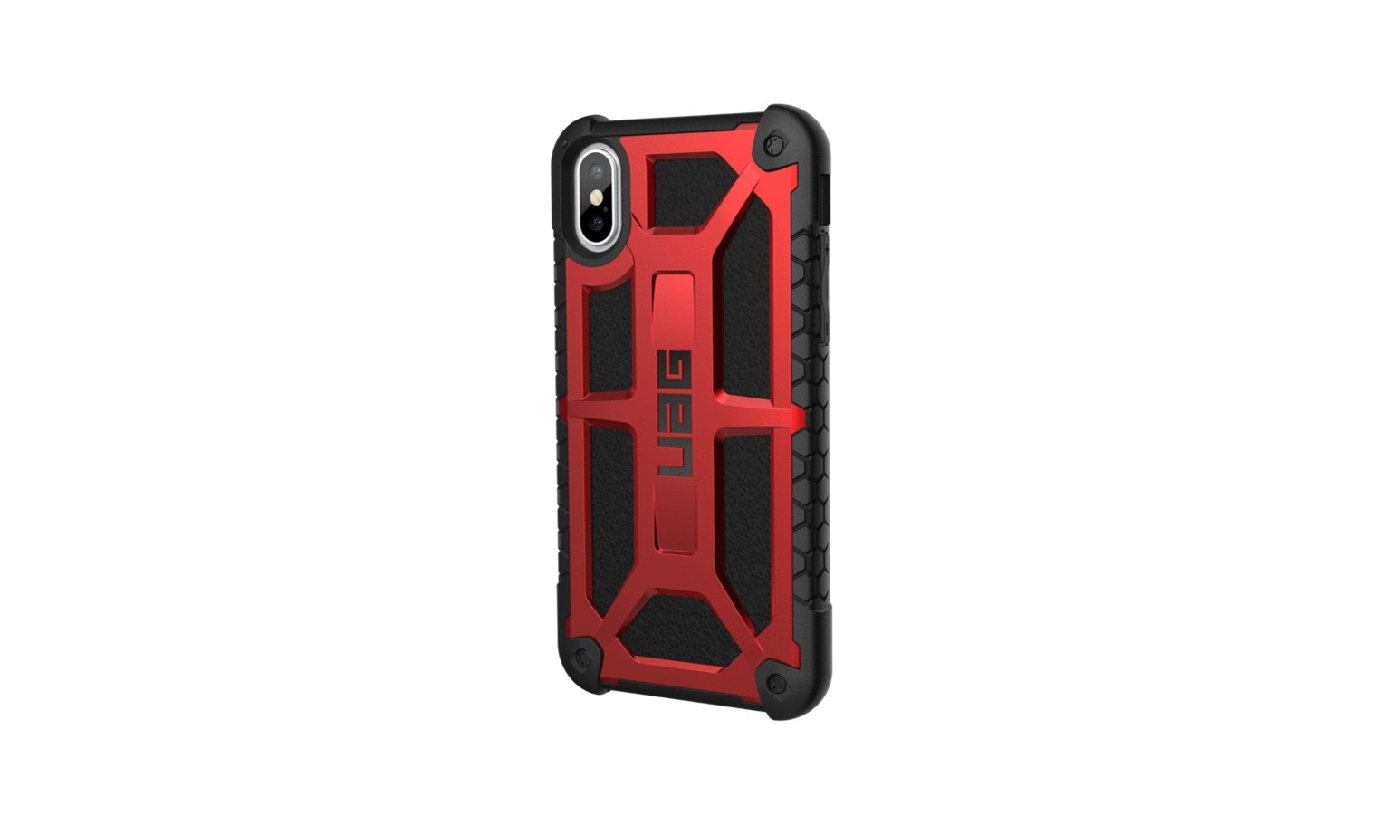 UAG Monarch Case for IPhone X - Crimson_01