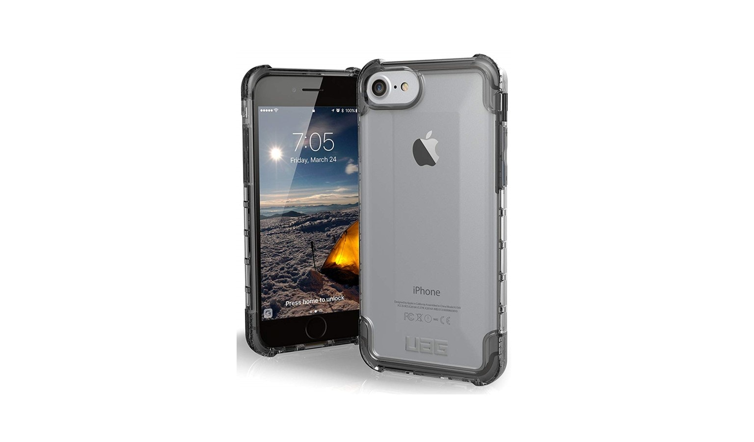 UAG Plyo Case for IPhone 8 - Ice_01