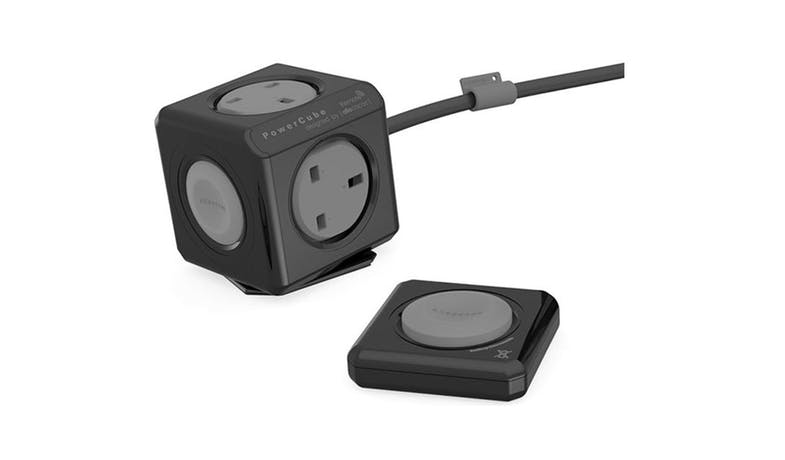 Allocacoc Remote Control Power Cube Socket - Black